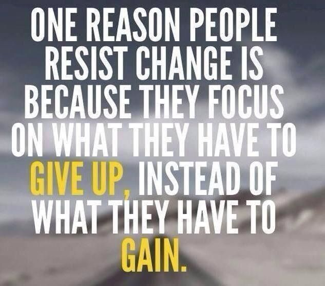 change give up