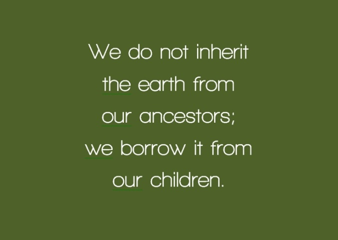 we do not inherit